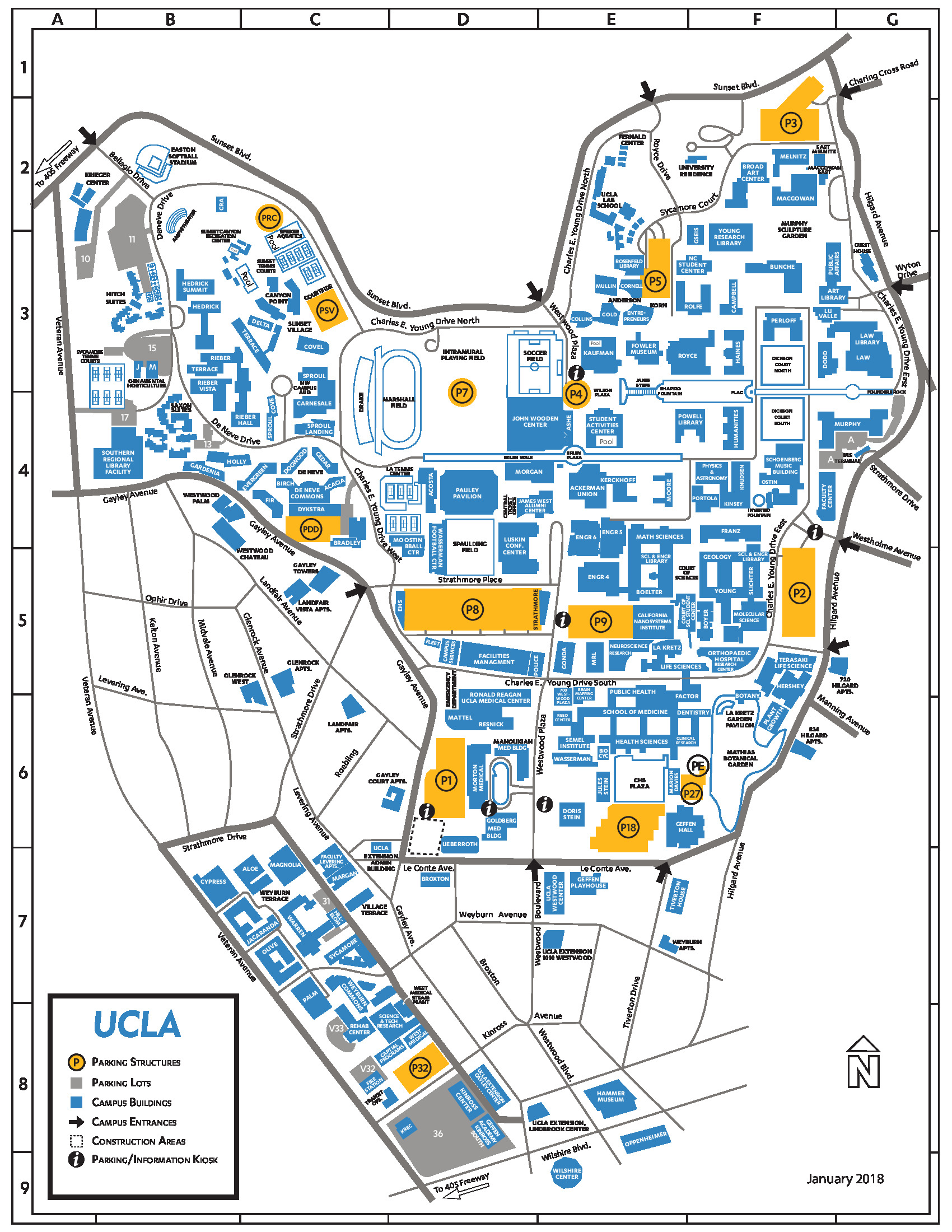 MobiHoc 2018 | Helpful Maps on ucla public affairs, ucla anderson, ucla department of social work,