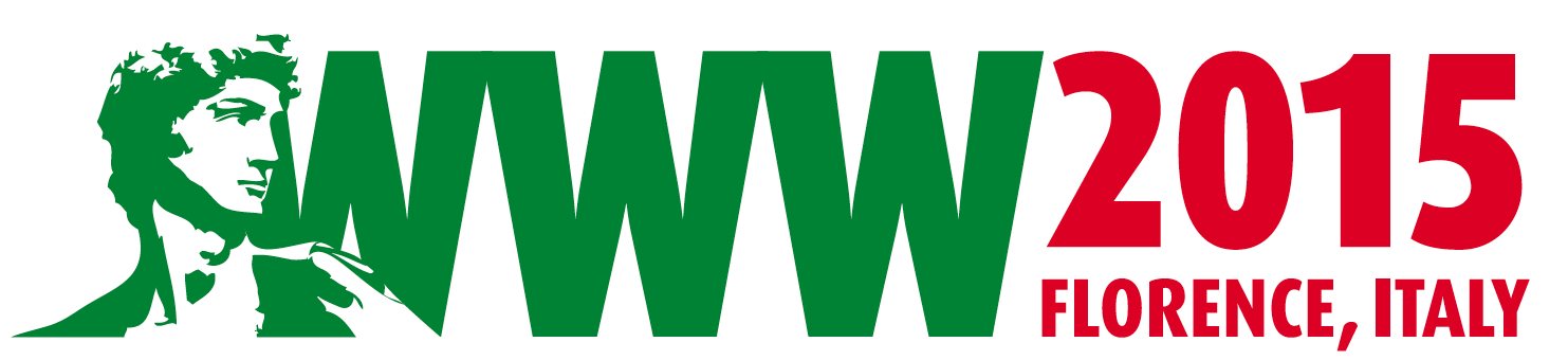 Logo of the World Wide Web Conference 2015