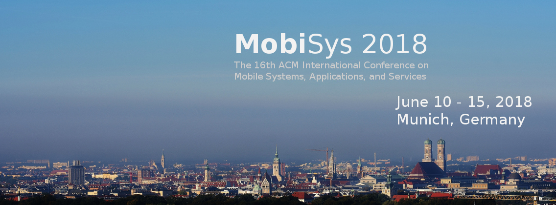 MobiSys 2018 | Call for Workshops